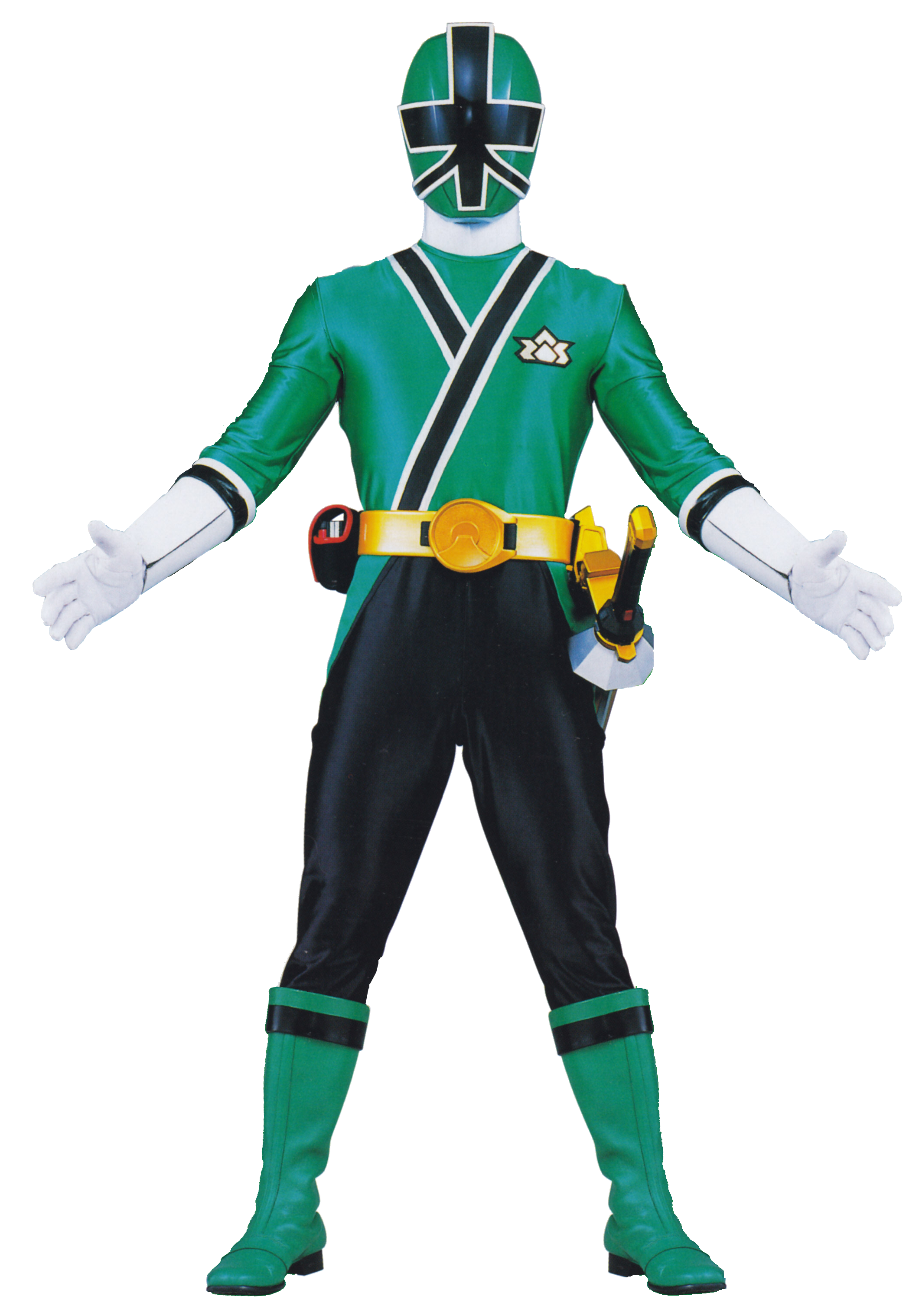 Samurai transparent green. I searched for power