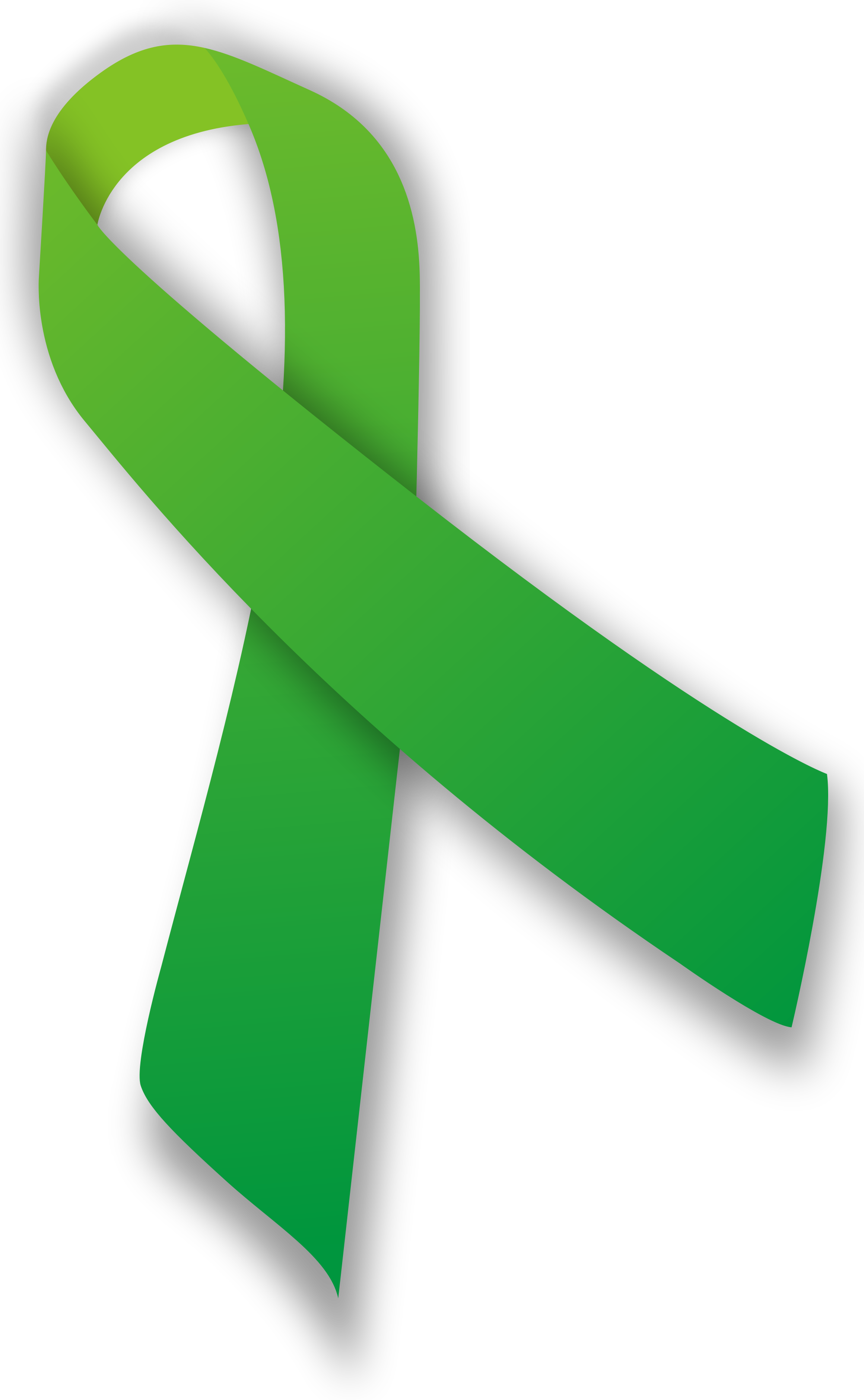 Green ribbon png. File svg wikimedia commons