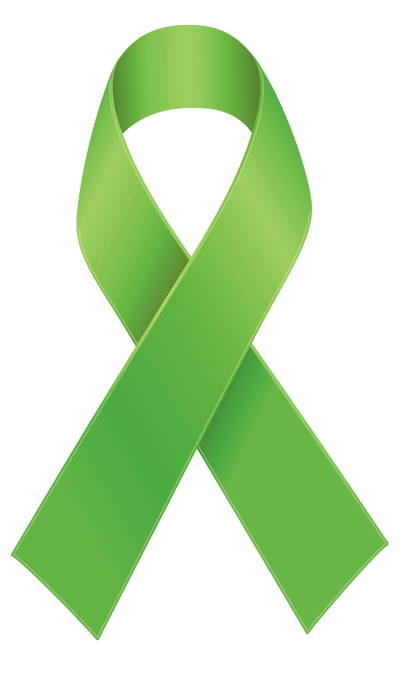 Green ribbon png. Be a champion midwest