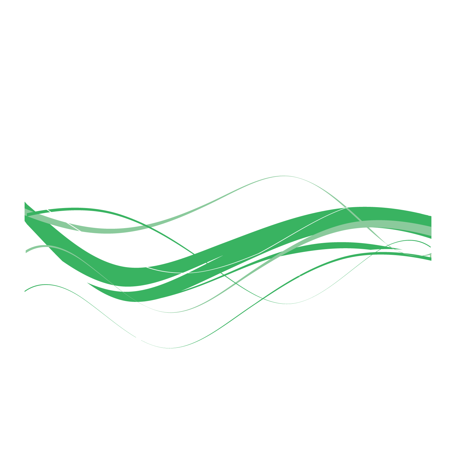 Green ribbon vector png. Red celebration transprent free