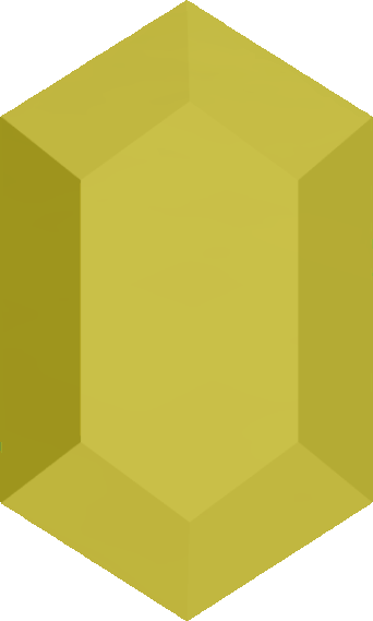 Green rupee png. Image yellow the wind