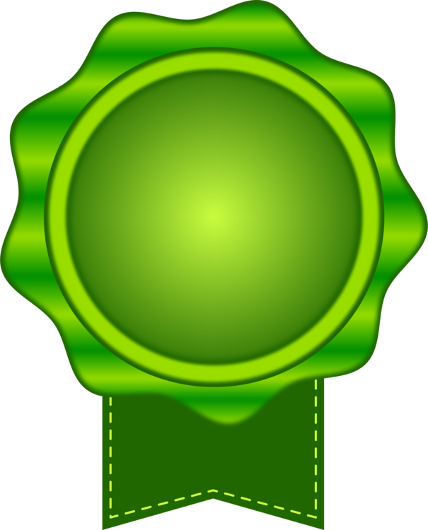 Medal drawing color. Computer icons green seal