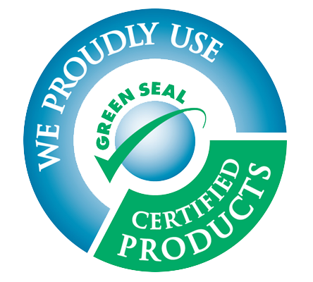 Green seal png. Host carpet care achieved