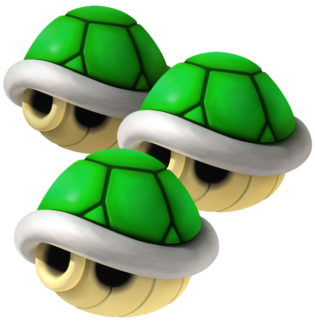 Green shell png