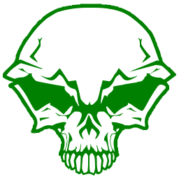 Green skull png. Free cliparts download clip