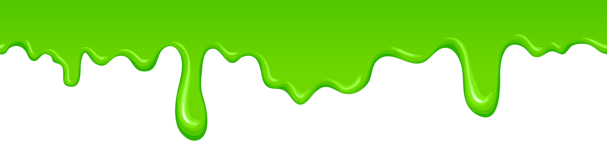 Green slime transparent png. Children birthday party packages