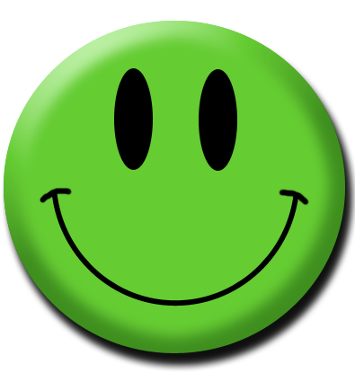 Green smiley face png. Clipart images happy
