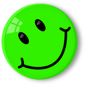 Green smiley face png. Smileys with happy