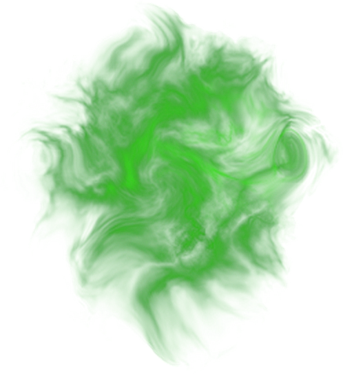 Green smoke effect png. Fog effects color weird