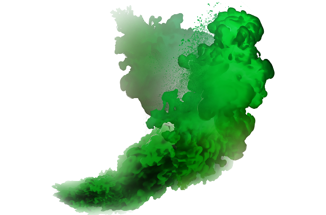 Green smoke png. Download image arts