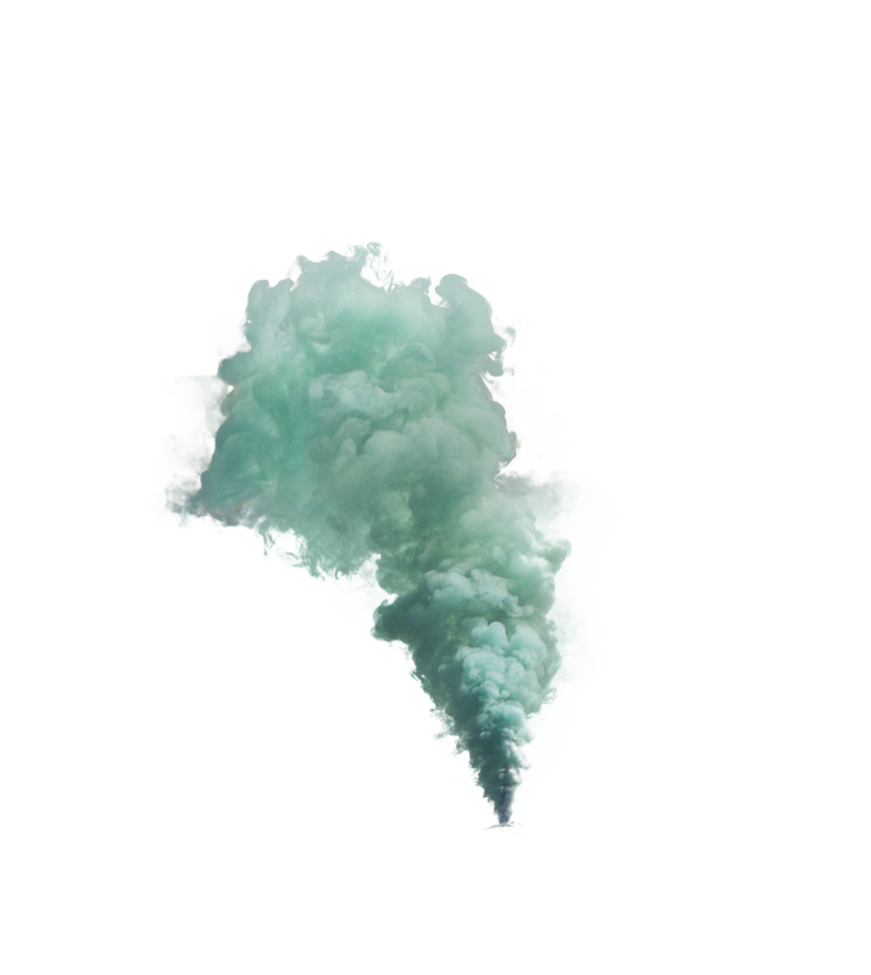 Green smoke png. By zedlord art on