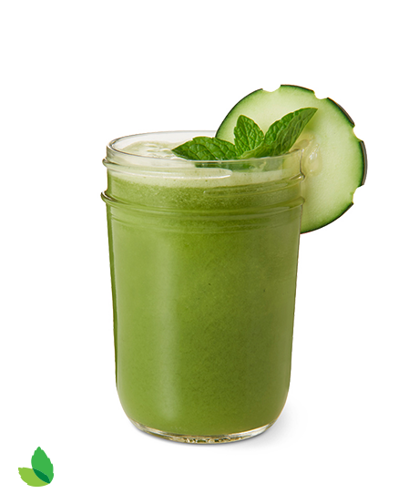 Green smoothie png. Spring juice cooler recipe