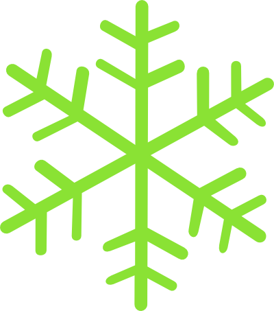 Green snowflake png. Snowflakes pinterest free clipart