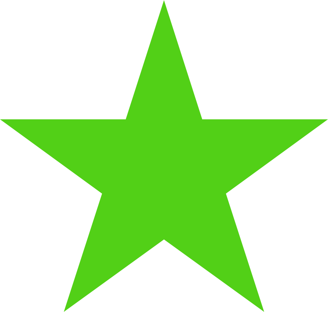 Neon stars png. File solid bright green
