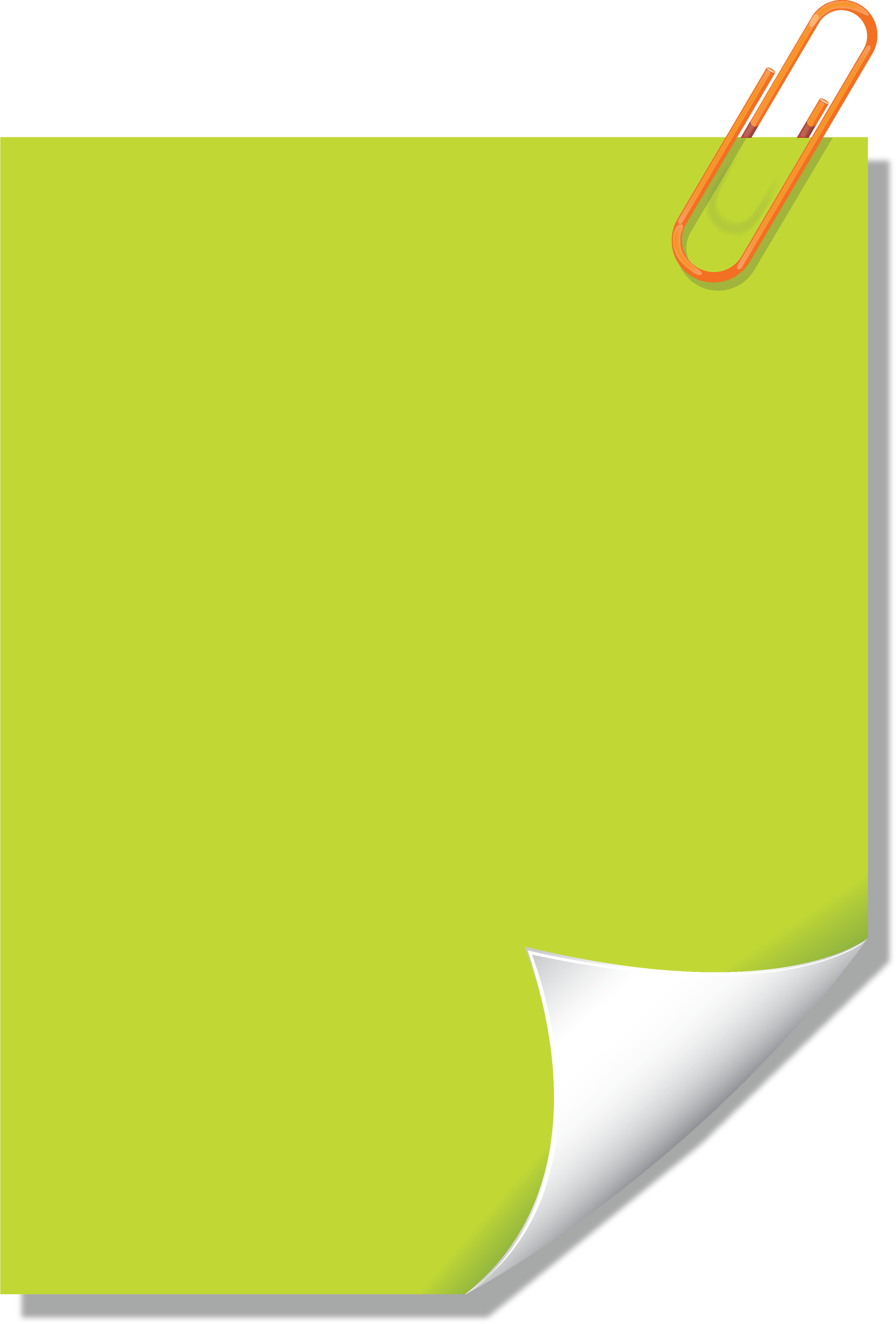 Green sticky note png. Notes image purepng free