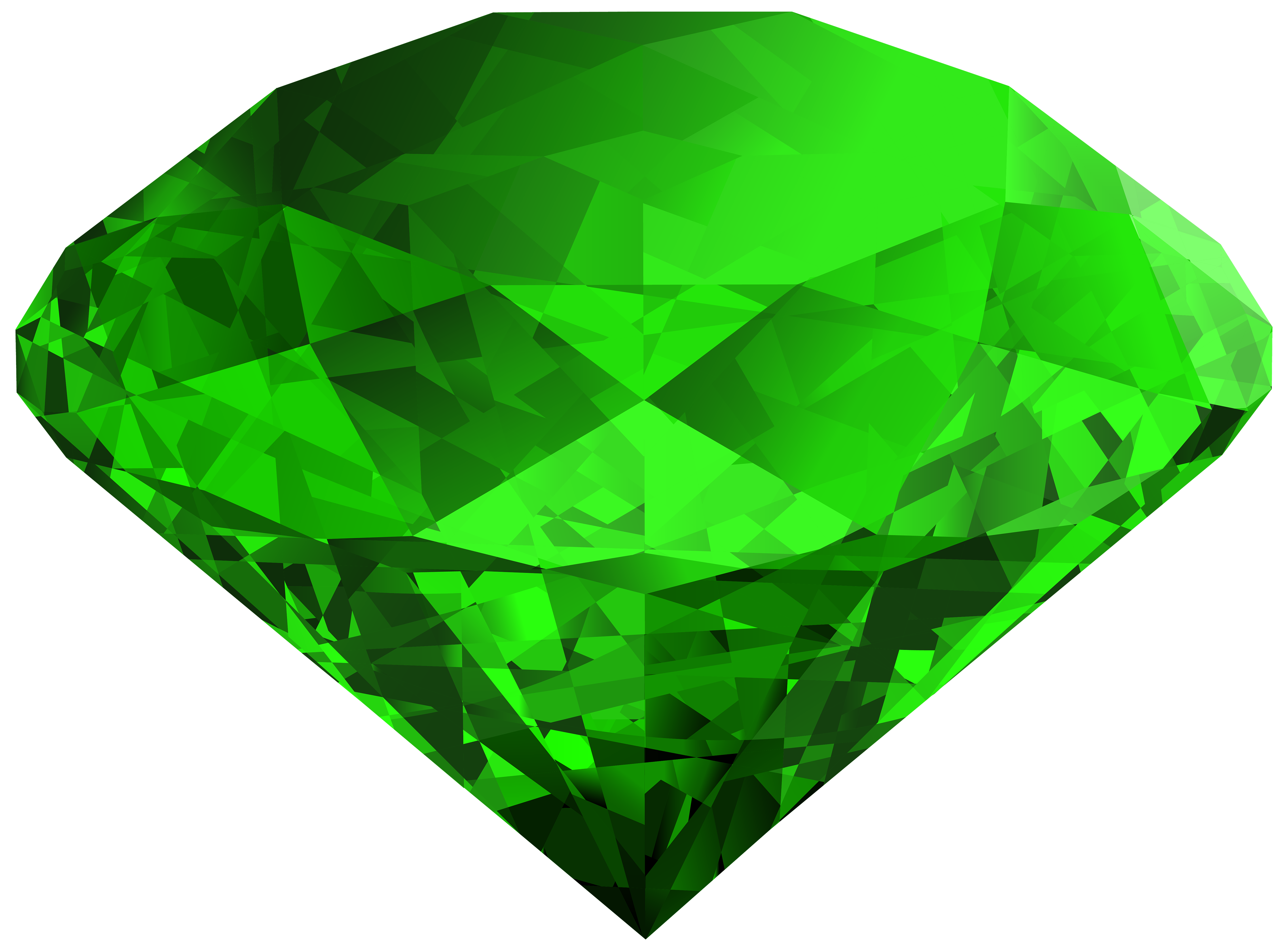 Emerald vector png transparent