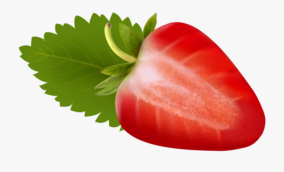 Green strawberry. Free png clip art