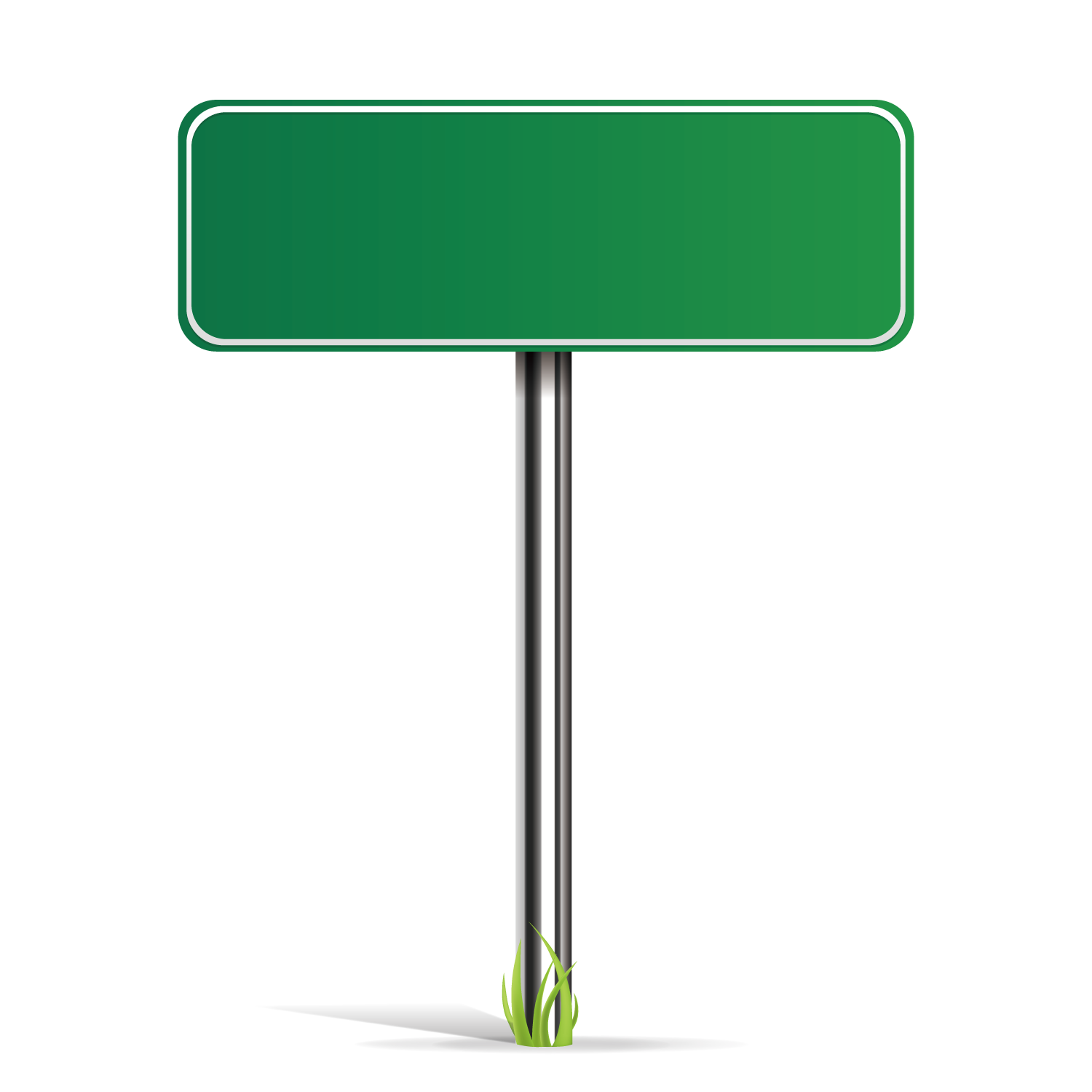 Green street sign png. Vector road transprent free