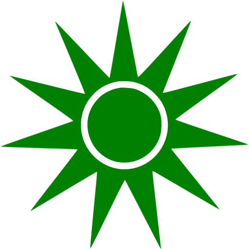 Green sun png. Icon free icons