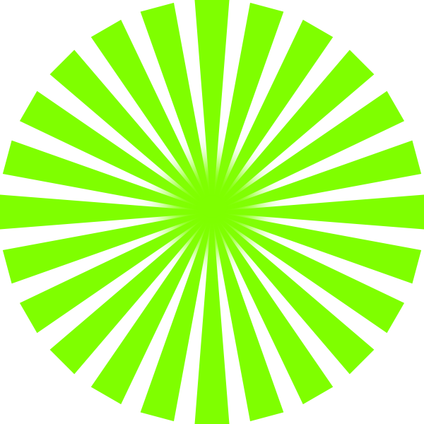 Green sun png. Rays clip art at