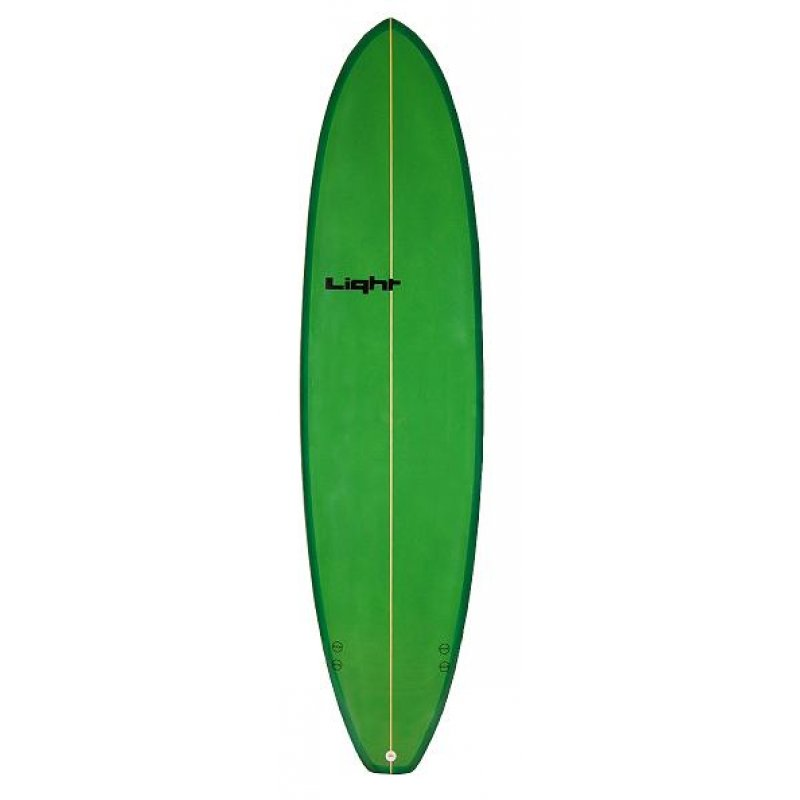 Green surfboard. Free picture of a