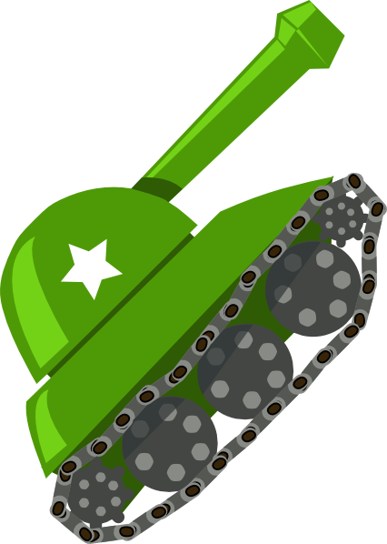 Green tank. Clip art at clker