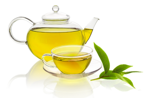 Transparent tea yellow. Kahwa green wanposh foods