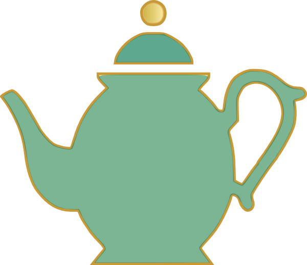Green teapot png. Tea pot clip art