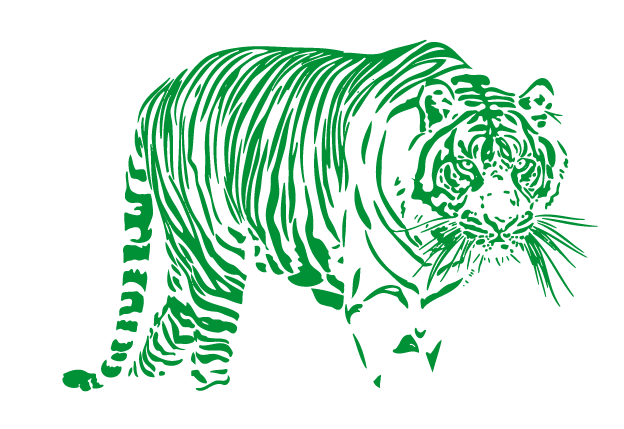 green tiger png