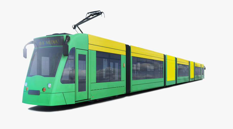 Small tram. Png download image with