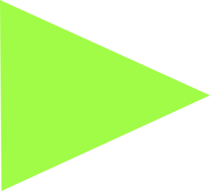 Vector triangles green. Triangle clip art at
