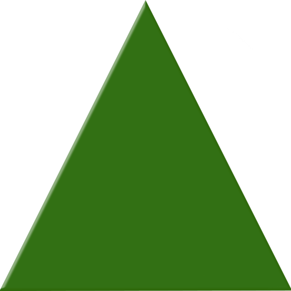Green png free icons. Triangle clipart png freeuse download