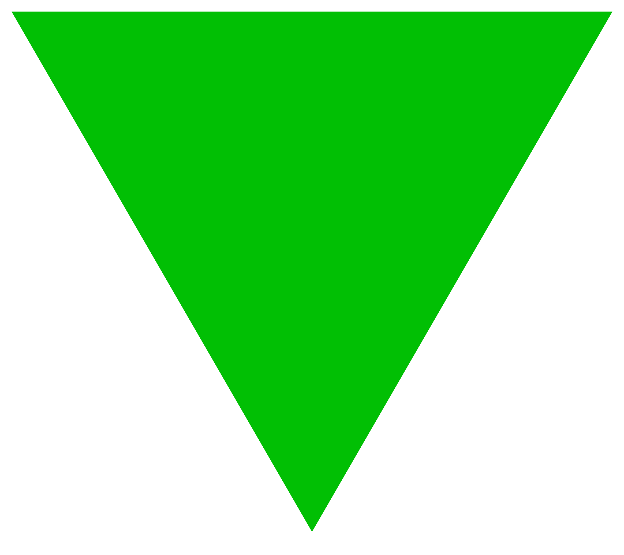 Green triangle png. File svg wikimedia commons
