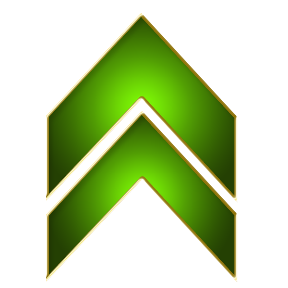 Green up arrow png. File double wikimedia commons