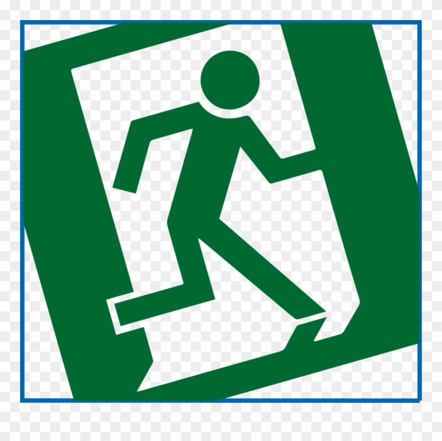 Green warning. Download health and safety