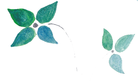 Green watercolor png. Free flowers over brush