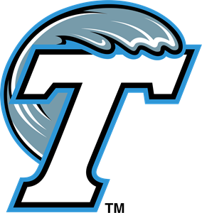 Green wave vector png. Tulane logo svg free