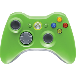 Green xbox controller png. Icon icons softicons com