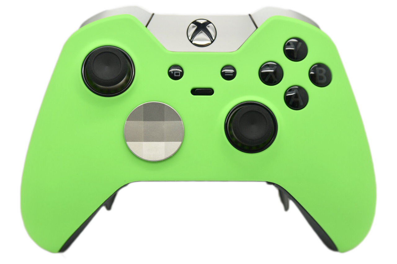 Green xbox controller png. One elite