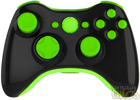 Green xbox controller png. Monster energy edition modded
