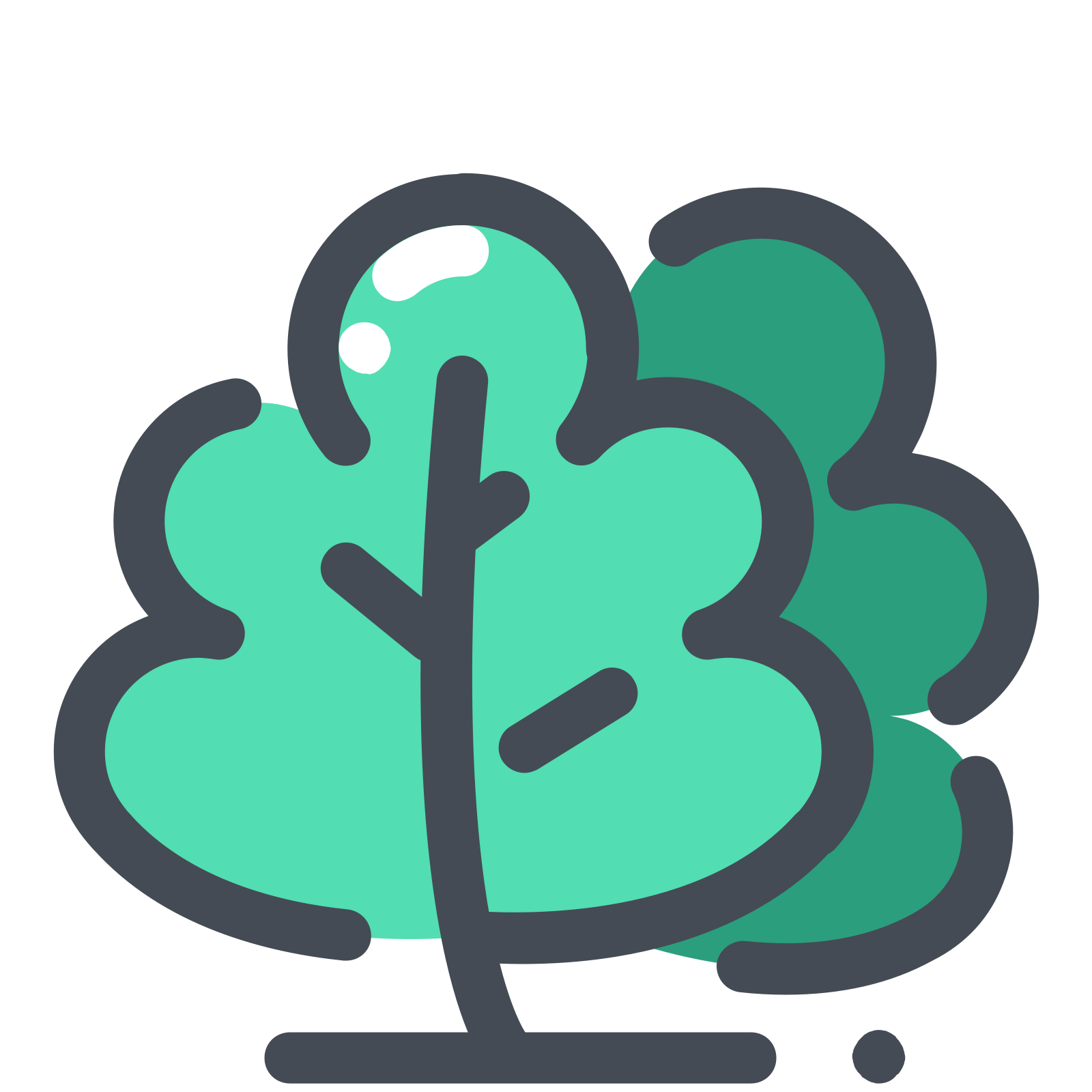 Greenery vector. Icon free download png
