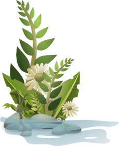 Clip art at clker. Greenery vector graphic freeuse library