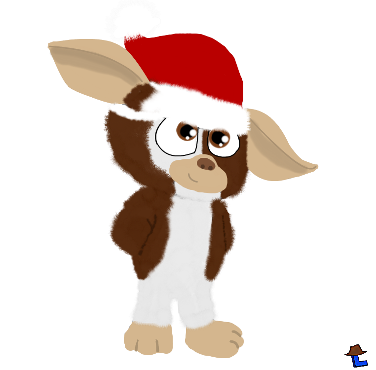 Gremlins drawing baby. Gizmo by laukku on
