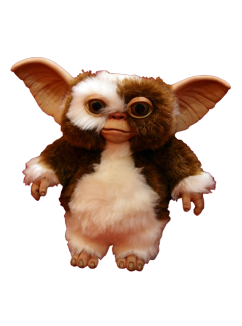 Gremlins drawing baby. Gizmo puppet prop for