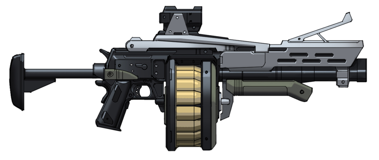 Grenade launcher png. Image m multishot halo