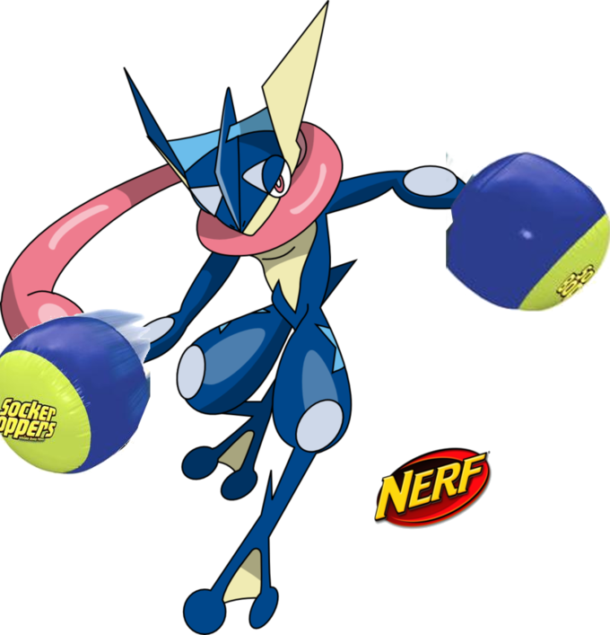 Greninja transparent angry. Better nerf know your