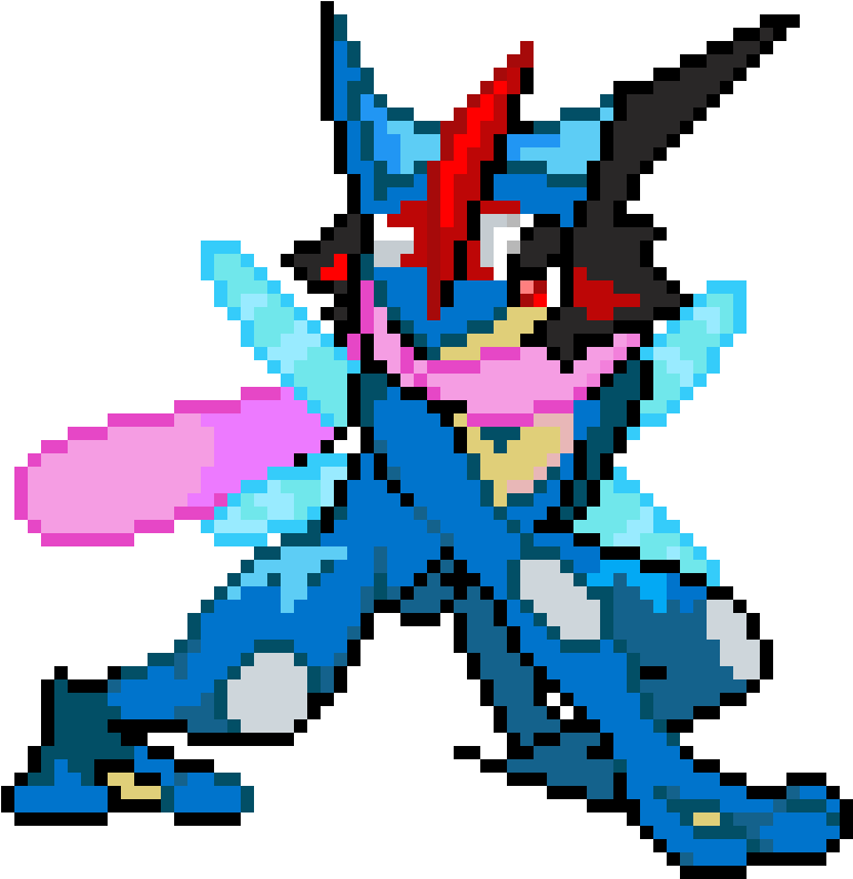 Greninja transparent background pokemon. Download hd ash sprite