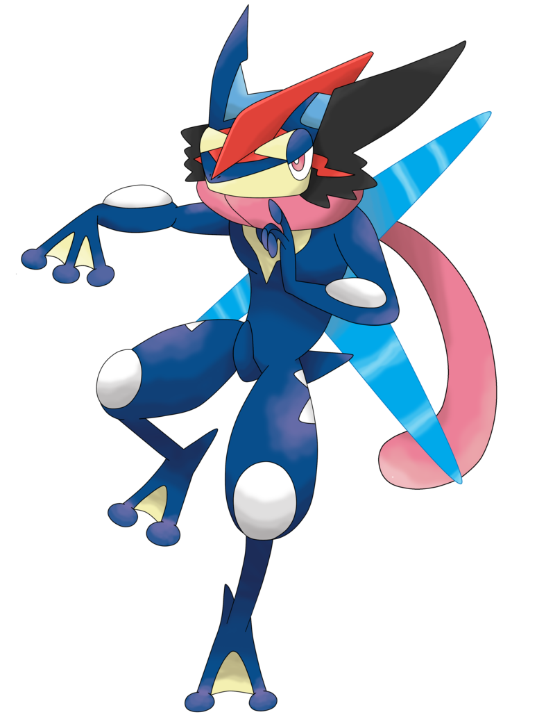 Greninja transparent mega. Ash by waitochan on