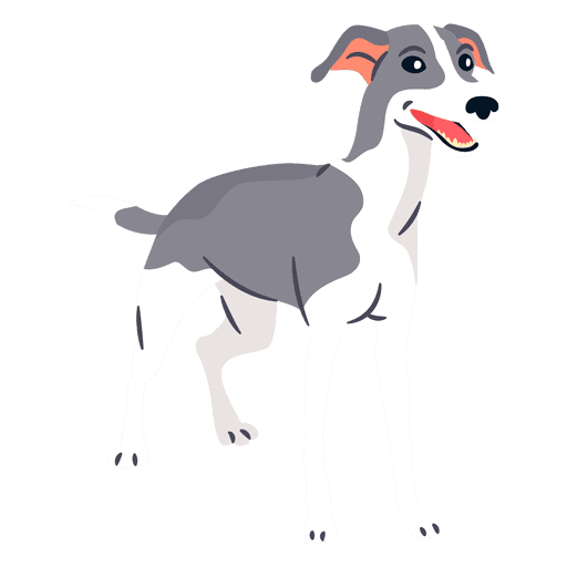 greyhound vector svg