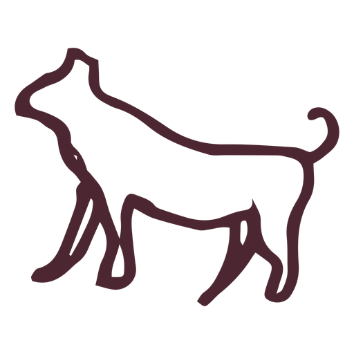 Greyhound vector football. Egyptian traditional symbol transparent